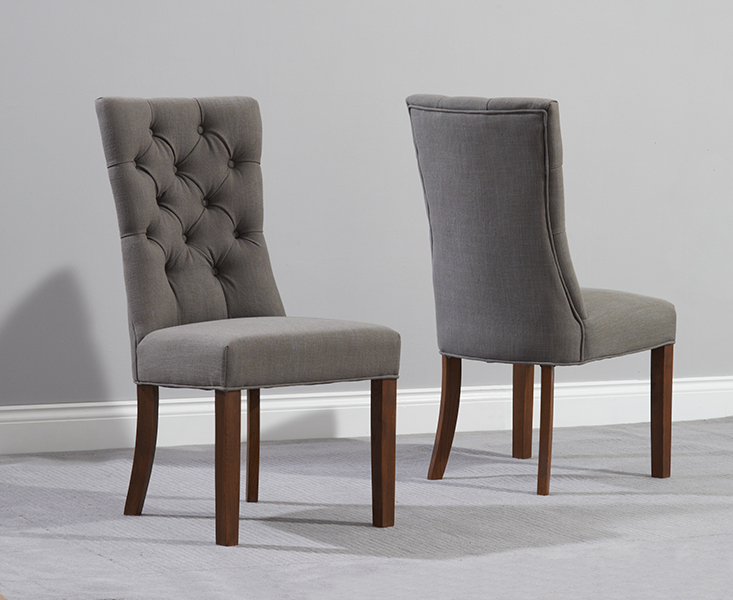 Innovative Fabric Dining Chairs Popular Of Fabric Dining Chair With Anais Grey Fabric Dark Oak Leg