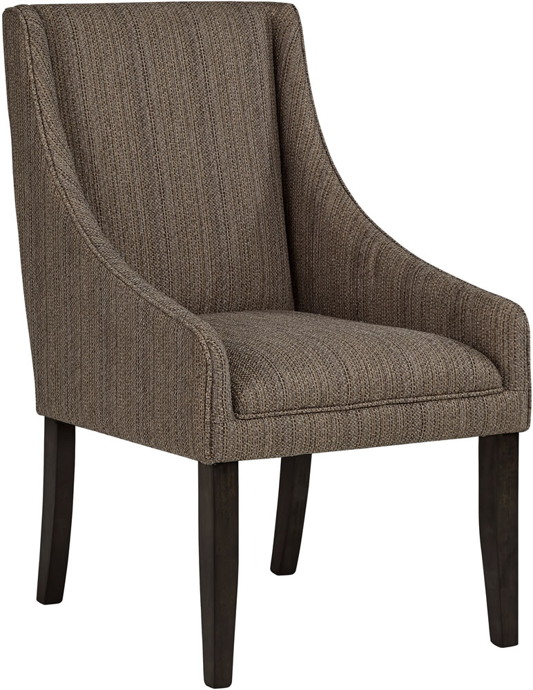 Innovative Fabric Dining Chairs With Arms Armed Dining Room Chairs