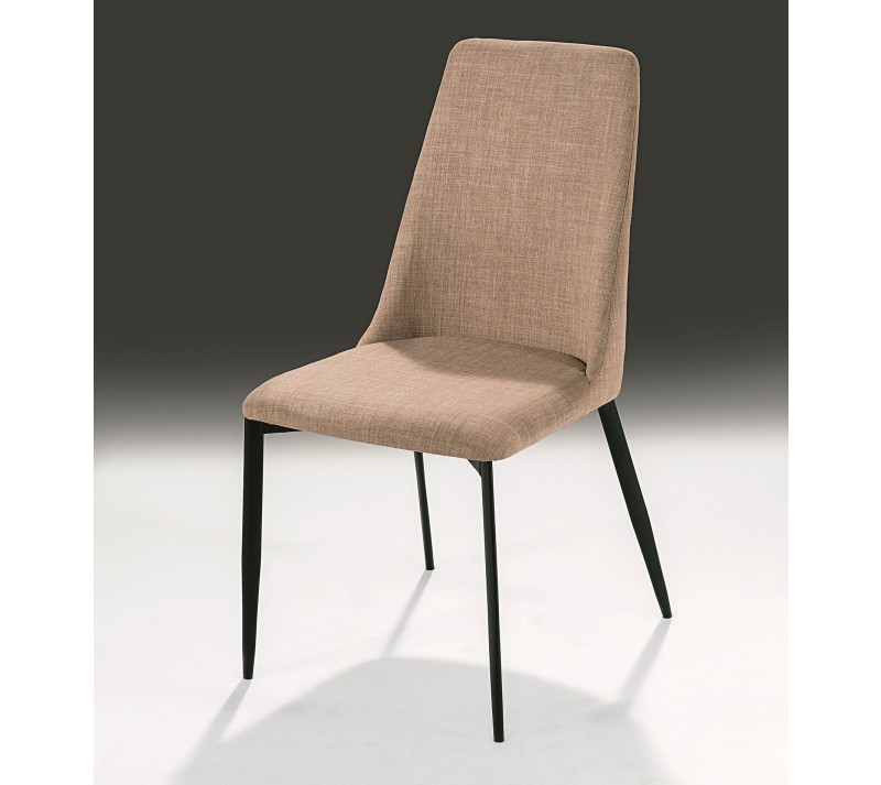 Innovative Fabric Dining Chairs With Black Legs Black Leg Fabric Dining Chairs A Pair Style Our Home