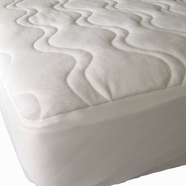 Innovative Full Mattress Pad Cover 40 Winks Omni Plush Quilted Organic Cotton Mattress Pad Cover