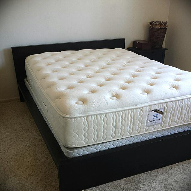 Innovative Full Size Bed Frame With Mattress And Box Springs Ikea Box Spring We Need It Or Not Depends On Your Bed Type