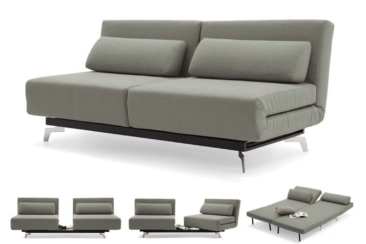 Innovative Futons And Convertible Sofas Grey Modern Futon Sofabed Sleeper Apollo Couch Futon The Futon