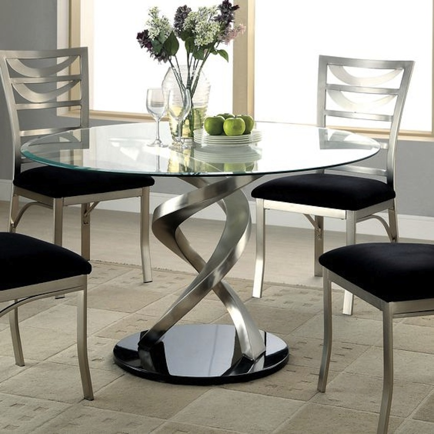 Innovative Glass Top Modern Dining Table Amazing Modern Glass Dining Tables