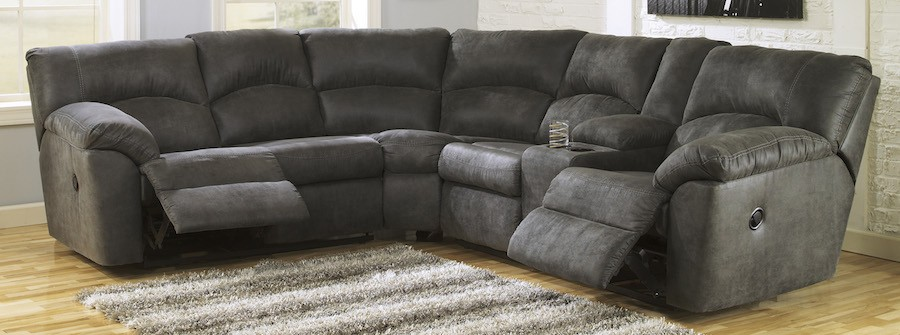 Innovative Gray Sectional Sofa With Recliner Sectionals