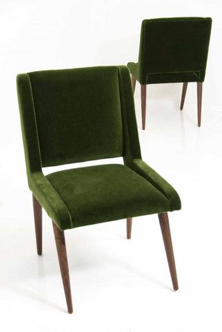 Innovative Green Dining Chairs Mid Century Dining Chair In Emerald Mohair Dining Chairs Mid