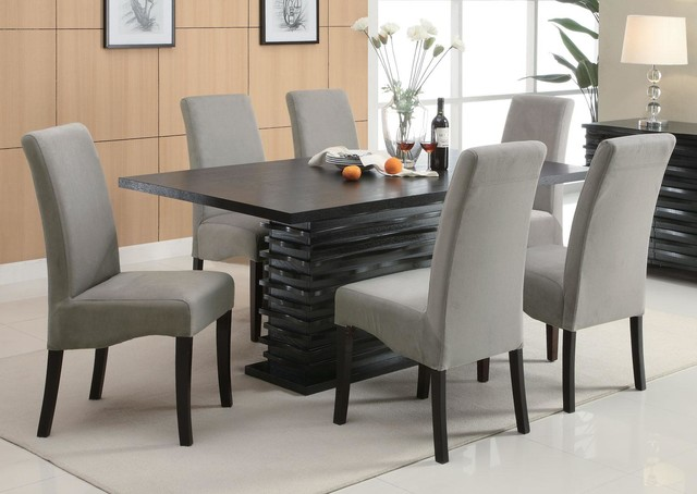 Innovative Grey Fabric Dining Room Chairs Grey Fabric Dining Room Chairs For Good Grey Fabric Dining Room