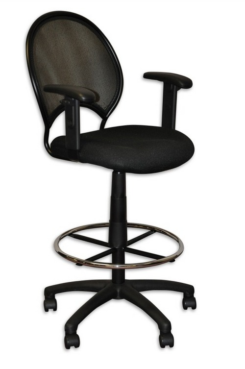 Innovative High Desk Chair Stylish High Office Chairs With Arms Tall Office Chair With Arms