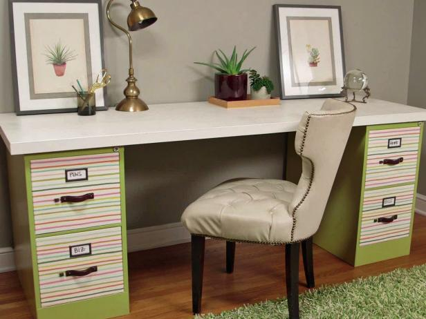 Innovative Home Office Desk And File Cabinet Small Home Office Hacks And Storage Ideas Diy