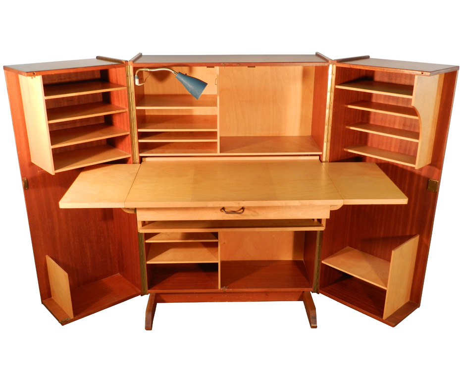 Innovative Home Office Desk With Storage Nice Compact Office Desk Teak And Sycamore Compact Home Office