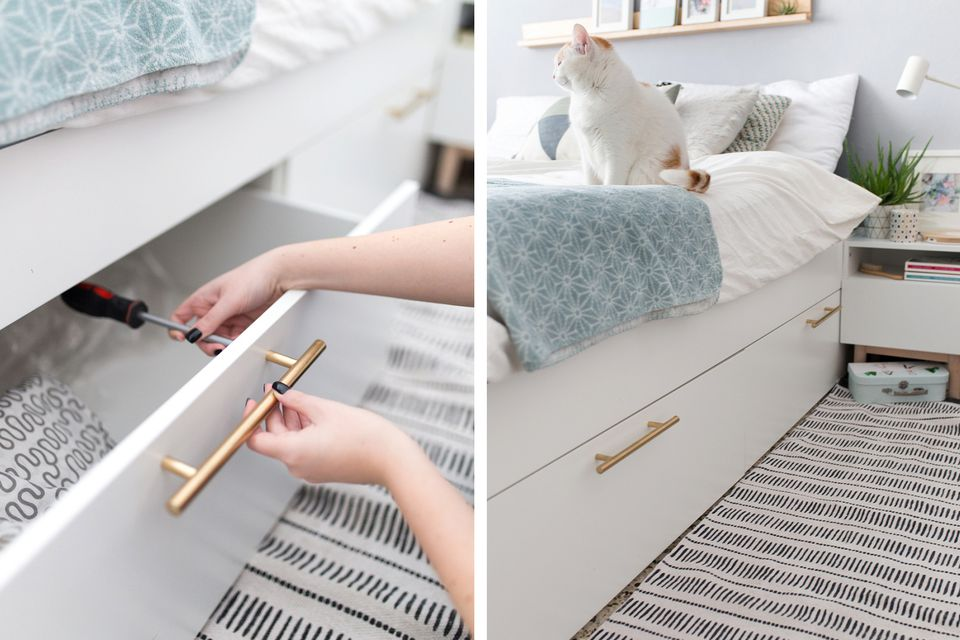 Innovative Ikea Bed And Dresser 21 Best Ikea Storage Hacks For Small Bedrooms