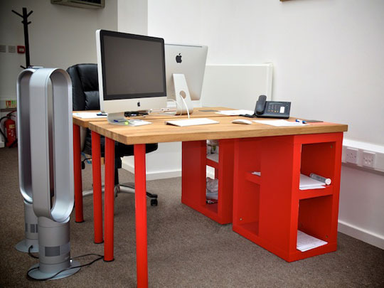 Innovative Ikea Build A Desk How To Build A Better Ikea Desk Apartment Therapy
