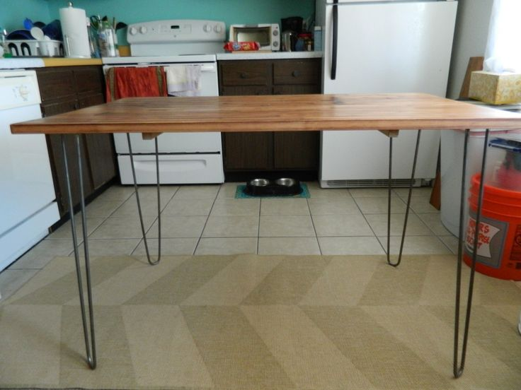 Innovative Ikea Metal Dining Table Ikea Dining Table Hack Hairpin Project Inspiration Pinterest