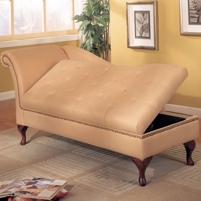 Innovative Indoor Chaise Lounge With Storage Impressive On Chaise Lounge With Storage Leather Chaise Lounge