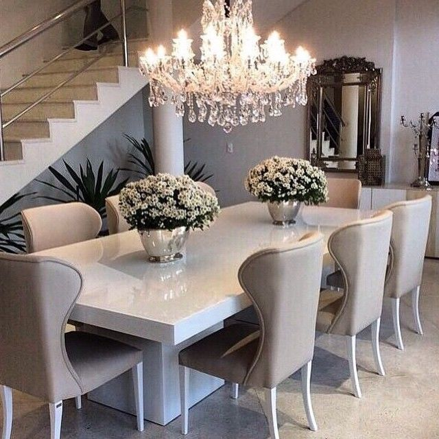 Innovative Ivory Kitchen Chairs Best 25 White Dining Table Ideas On Pinterest White Dining Room
