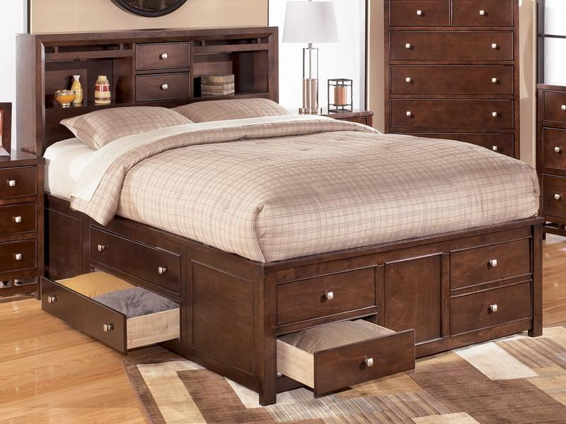 Innovative King Bed With Drawers Remarkable King Bed With Drawers Underneath Practical King Bed
