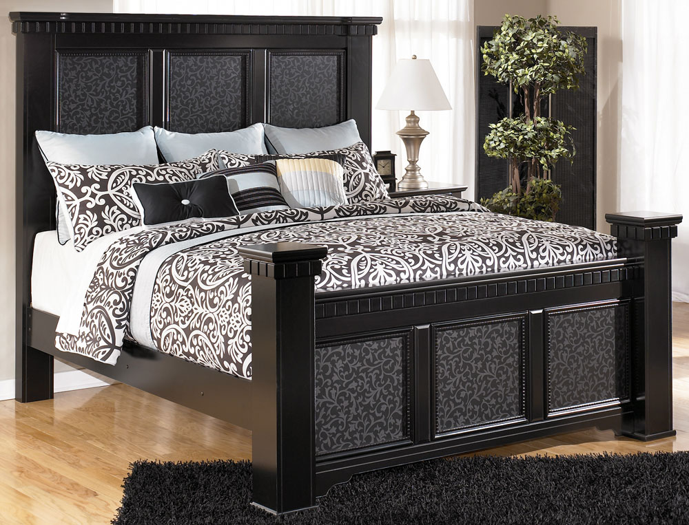 Innovative King Size Bedroom Furniture Cavallino Mansion Cal King Size Bed Signature Design Tenpenny