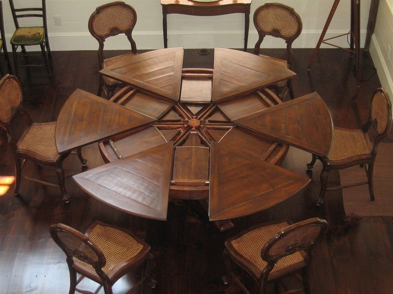 Innovative Large Circular Dining Table Dining Table Cute Glass Dining Table Round Dining Tables In Large
