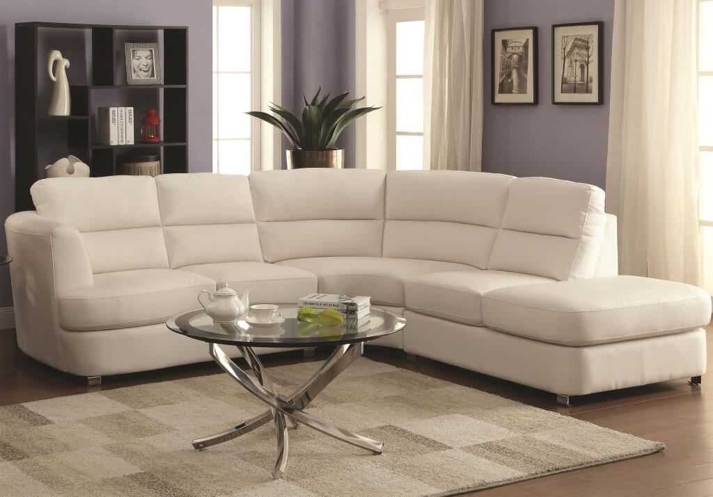 Innovative Large Leather Sectional With Chaise Furniture Modern Minimalist Large Leather Sectional Sofa With