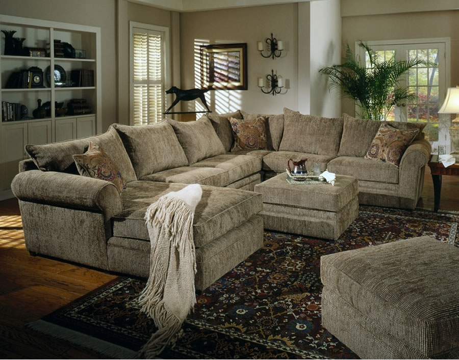 Innovative Large Sectional Sofa With Ottoman Living Room Sofas Center Oversized Sectional Sofa With Ottoman