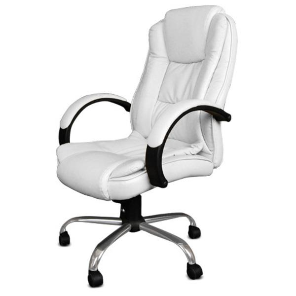 Innovative Leather Computer Chair Brilliant White Leather Chair Office Leather Office Chairs White