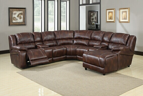 Innovative Leather Reclining Sectional Sofa With Chaise 7 Piece Sectional Sofa Faux Leather Reclining Sectional