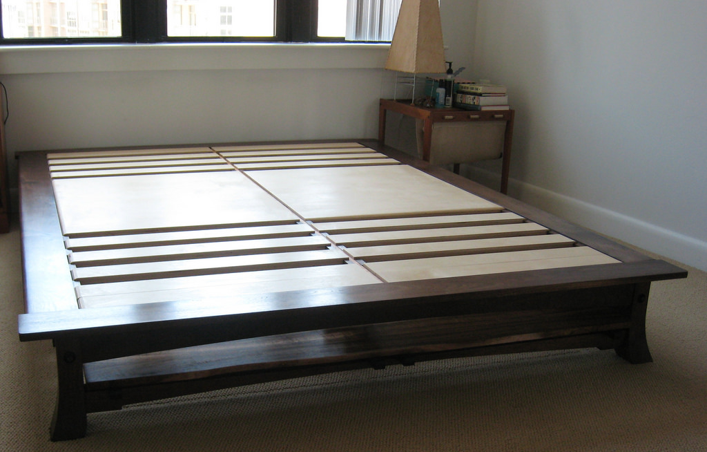 Innovative Low King Bed Frame Latest Platform Bed Without Headboard King Platform Bed With