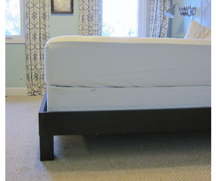 Innovative Mattress On Bed Frame Without Box Spring How To Convert A Platform Bed For A Box Spring Little House Big City