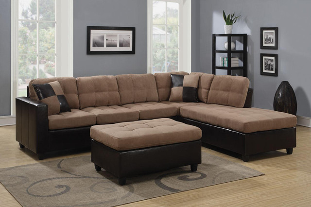 Innovative Microfiber Leather Sectional Sofa Best Microfiber Leather Sofa Bestofpicture Images Tan Microfiber