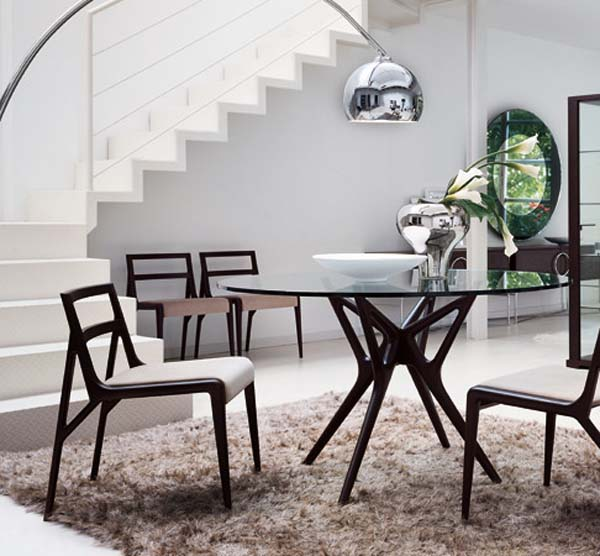 Innovative Modern Circular Dining Table Nice Modern Round Dining Table And Chairs Picture Of Awesome