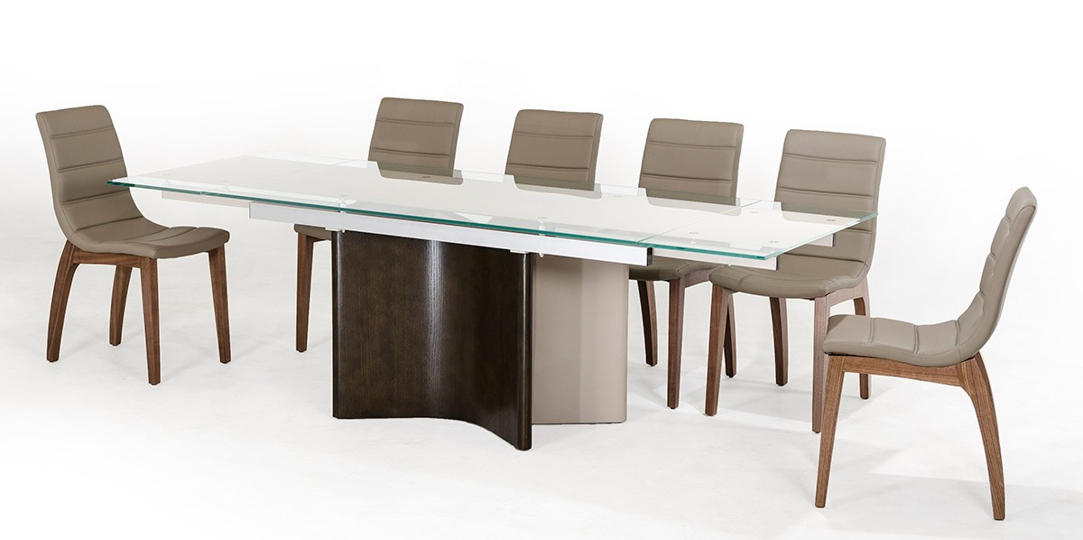 Innovative Modern Extendable Dining Table Xeno Modern Extendable Dining Table
