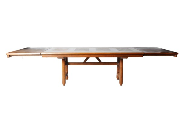 Innovative Modern Extension Dining Table Mid Century Modern Extension Dining Table Attributed To Guillerme