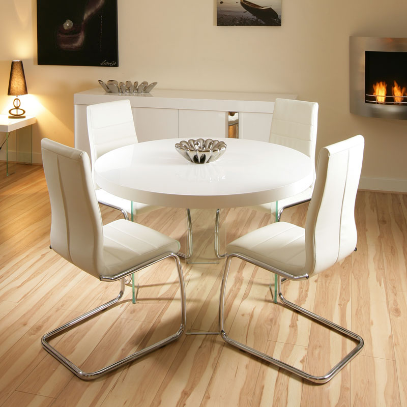 Innovative Modern Round White Dining Table Small Round Dining Kitchen Tables For Small Kitchens Home Design