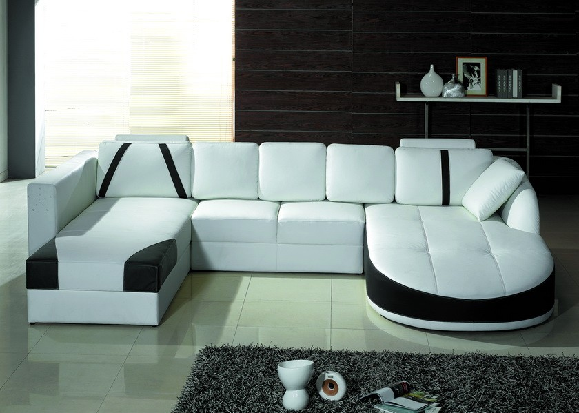 Innovative Modern Sofa Set Designs Tosh Furniture Ultra Modern Sectional Sofa Set In White Flap Stores
