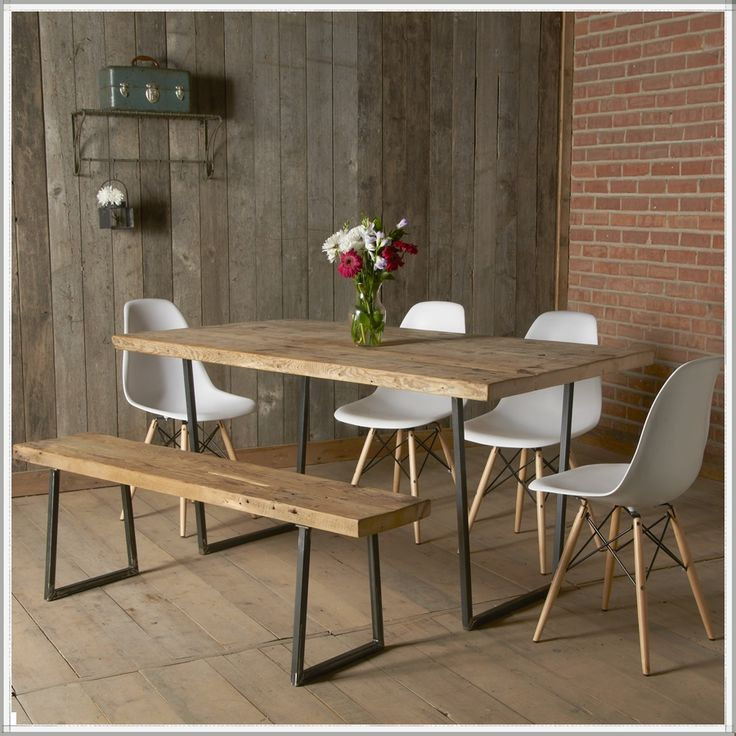Innovative Modern Wood Dining Table Best 25 Rustic Wood Dining Table Ideas On Pinterest Kitchen