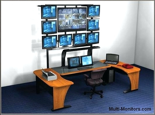 Innovative Multi Monitor Desk Desk Multi Monitor Desk Stand Triple Monitor Desk Stand
