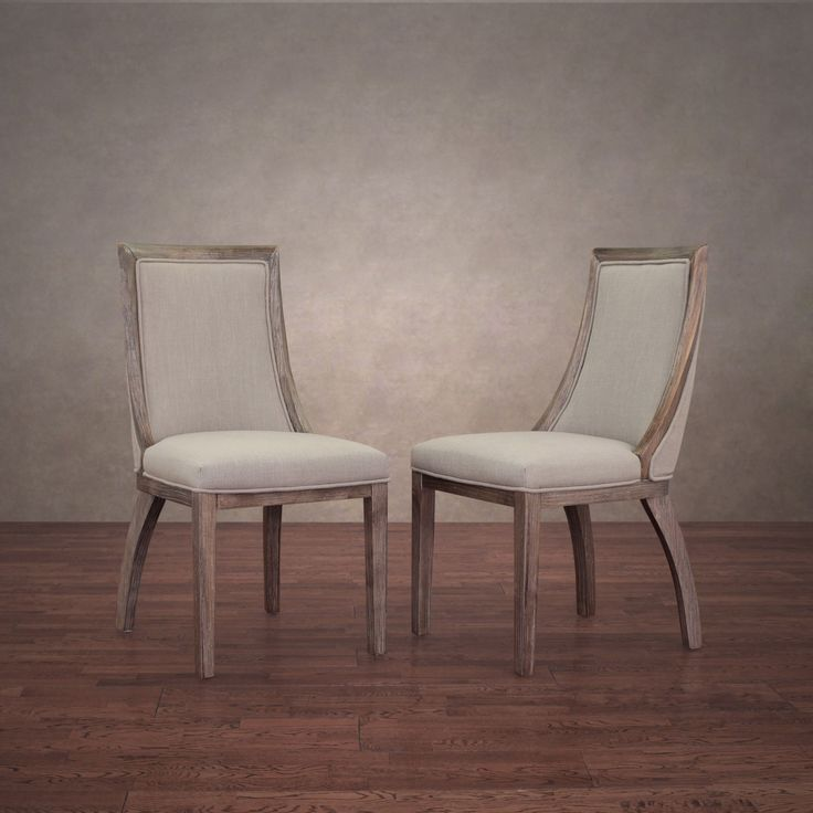 Innovative Off White Wood Dining Chairs Best 25 Linen Dining Chairs Ideas On Pinterest Kitchen In