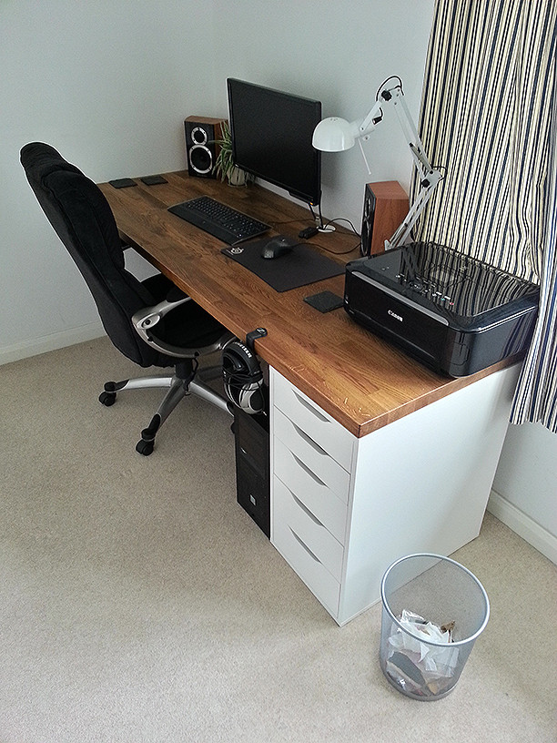 Innovative Office Worktop Desk Custom Desk What Would You Want Overclockers Uk Forums