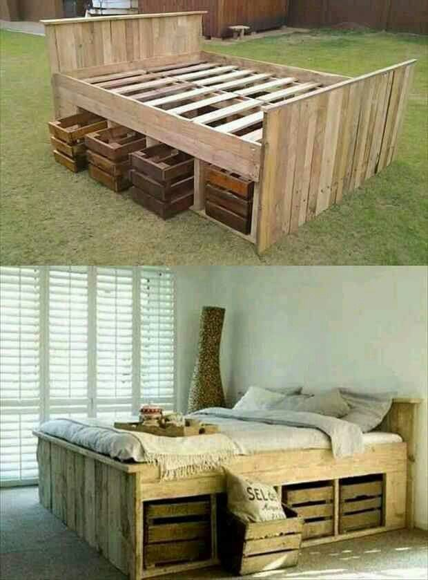 Innovative Places To Get Bed Frames Best 25 Pallet Bed Frames Ideas On Pinterest Pallet Platform