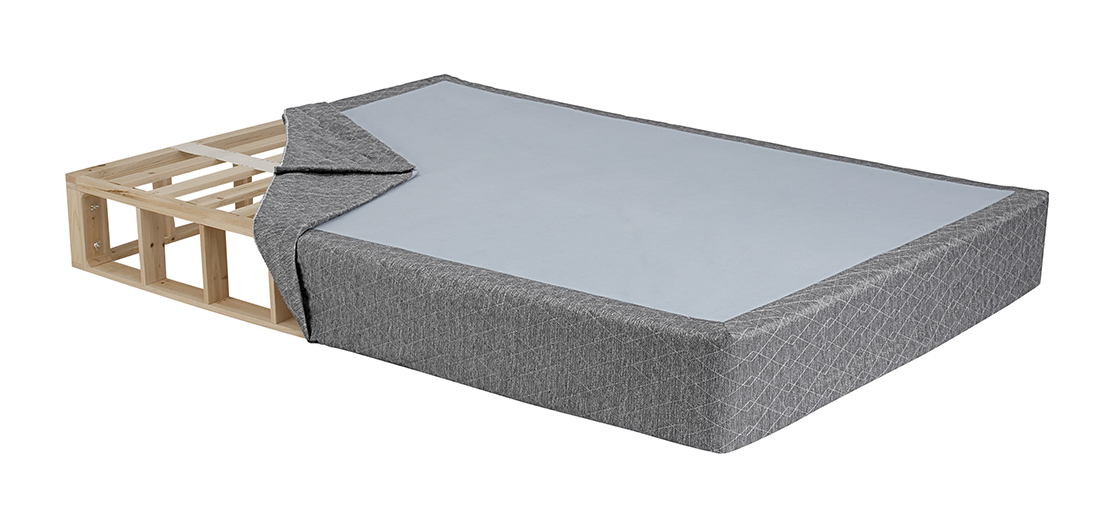 Innovative Queen Bed Foundation Box Ghostbed High Quality Mattress Foundation Boxspring Alternative