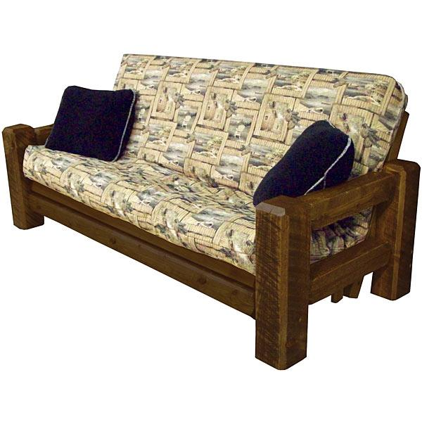Innovative Queen Futon Frame Wood Tables And Seating Barnwood Futon Frame Bw48
