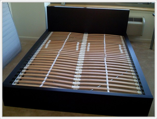 Innovative Queen Size Bed Planks Ikea Queen Bed Slats Malm Home Design Ideas
