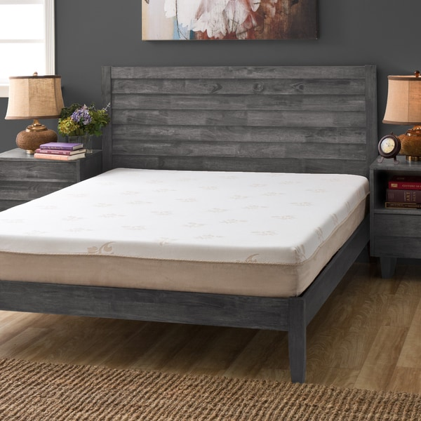 Innovative Queen Size Memory Foam Bed Frame Grande Hotel Collection Posture Support 8 Inch Queen Size Memory