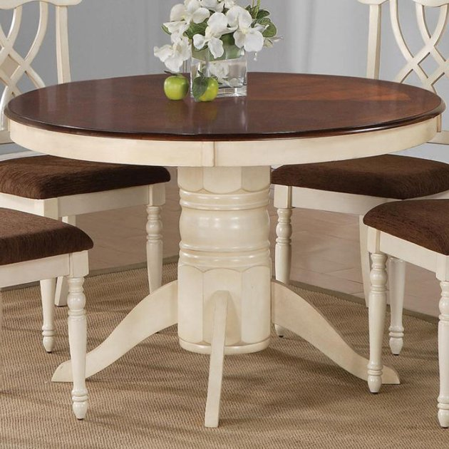 Innovative Round Table With Leaves Plain Decoration Pedestal Dining Table With Leaf Cozy Round Dining