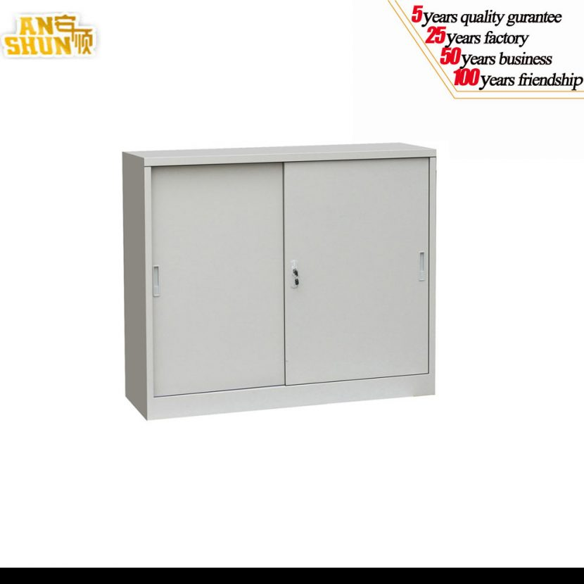 Innovative Small Office Cabinet Modern Office Furniture Cabinet Sliding Door Mechanism Steel Steel