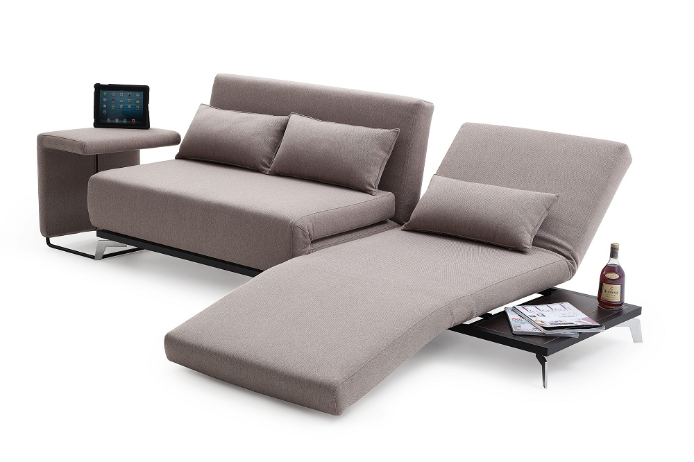 Innovative Small Pull Out Sofa Bed Grey Fabric Convertible Pull Out Couch Bed With Chaise And Comfy