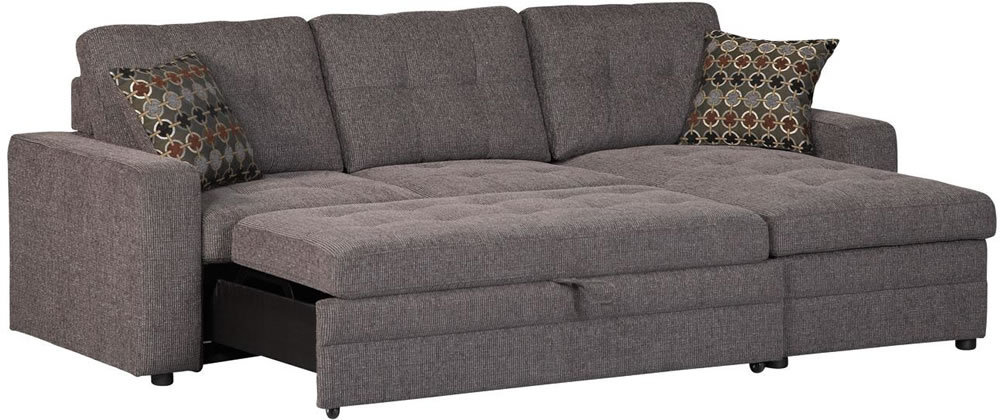 Innovative Small Sectional Sofa Bed Appealing Sectional Sofa With ...