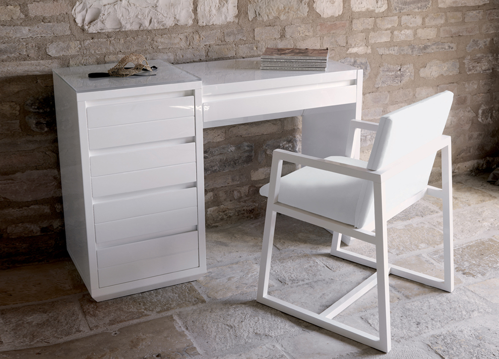 Innovative Small White Makeup Table Bedroom Marvelous Casabella Adria Dressing Table Casabella