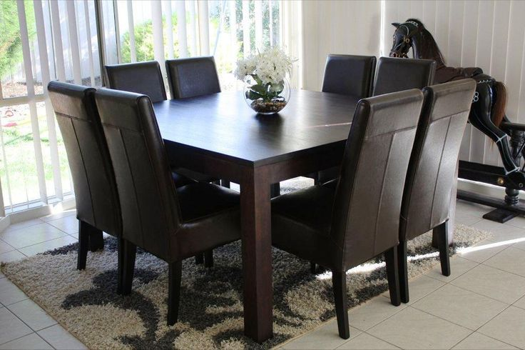 Innovative Square Dining Table For 8 Dining Awesome Reclaimed Wood Dining Table White Dining Table On 8