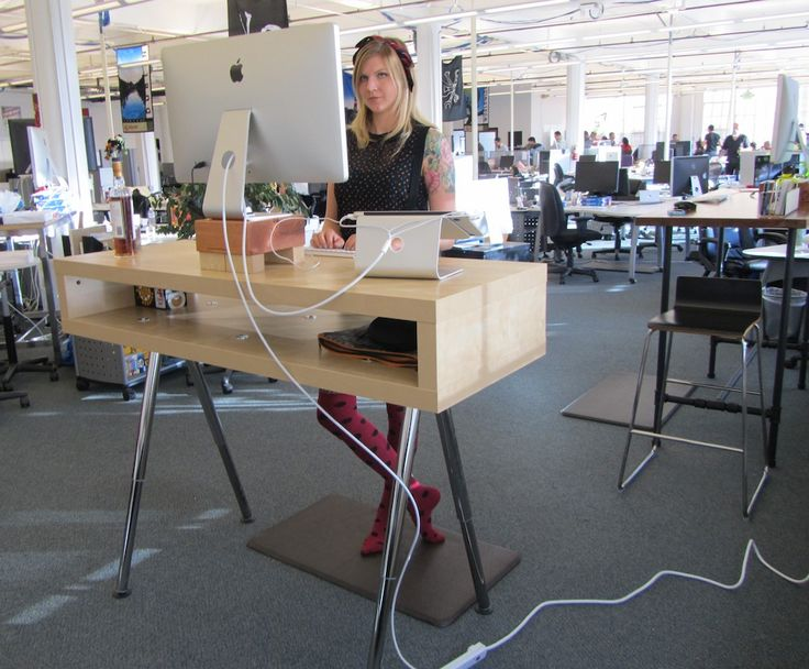Innovative Stand Up Table Ikea Best 25 Standing Desks Ideas On Pinterest Standing Desk Height
