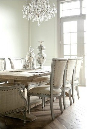 Innovative Studded Dining Chair Cream Chairs Insurserviceonline